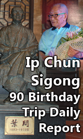 Icon Ip Chun Sigong 90 Birthday