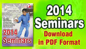 Seminars 2014 download
