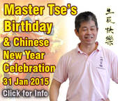 graphic Master Tse's Birthday & Chinese New Year Celebrations