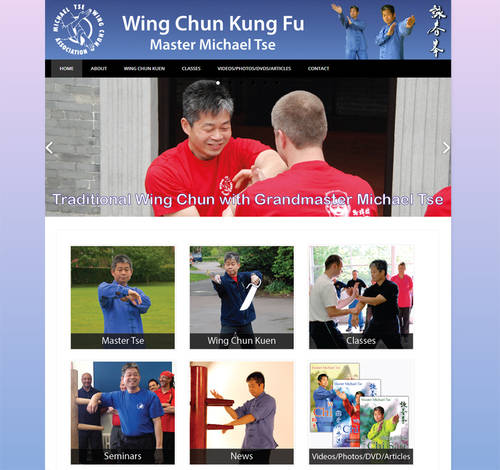 screen Master Tse's Wing Chun Kung Fu website