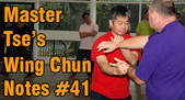 link to Wing Chun note 41